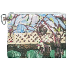 Blooming Tree 2 Canvas Cosmetic Bag (xxl) by bestdesignintheworld