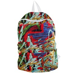 Blue Flamingoes 6 Foldable Lightweight Backpack by bestdesignintheworld