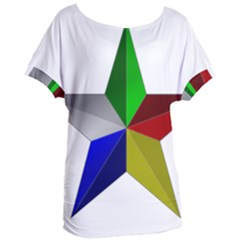 Druze Star Women s Oversized Tee by abbeyz71