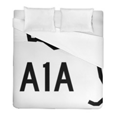 Florida State Road A1a Duvet Cover (full/ Double Size) by abbeyz71