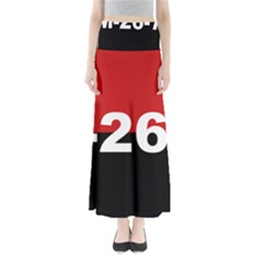 The 26th Of July Movement Flag Full Length Maxi Skirt by abbeyz71