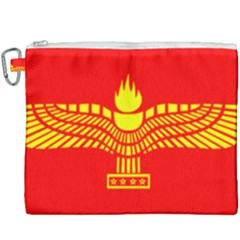 Aramean Syriac Flag Canvas Cosmetic Bag (xxxl) by abbeyz71
