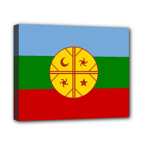 Flag Of The Mapuche People Canvas 10  X 8  by abbeyz71
