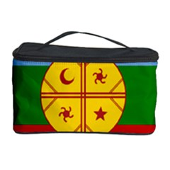 Flag Of The Mapuche People Cosmetic Storage Case by abbeyz71