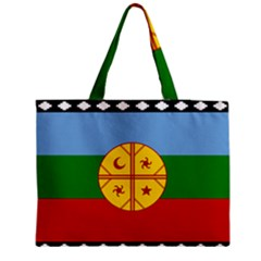 Flag Of The Mapuche People Medium Tote Bag by abbeyz71