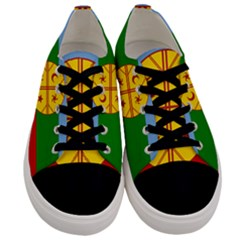 Flag Of The Mapuche People Men s Low Top Canvas Sneakers