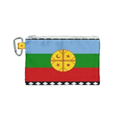 Flag Of The Mapuche People Canvas Cosmetic Bag (small) by abbeyz71