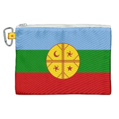 Flag Of The Mapuche People Canvas Cosmetic Bag (xl) by abbeyz71