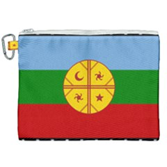 Flag Of The Mapuche People Canvas Cosmetic Bag (xxl) by abbeyz71
