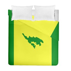 Flag Of Culebra Duvet Cover Double Side (full/ Double Size) by abbeyz71