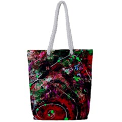 Bloody Coffee 6 Full Print Rope Handle Tote (small) by bestdesignintheworld