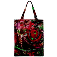 Bloody Coffee 5 Zipper Classic Tote Bag by bestdesignintheworld
