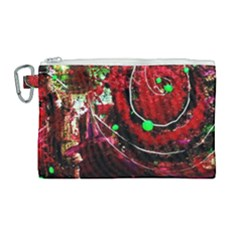 Bloody Coffee 5 Canvas Cosmetic Bag (large) by bestdesignintheworld