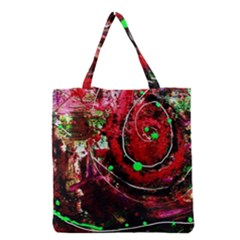 Bloody Coffee 5 Grocery Tote Bag by bestdesignintheworld
