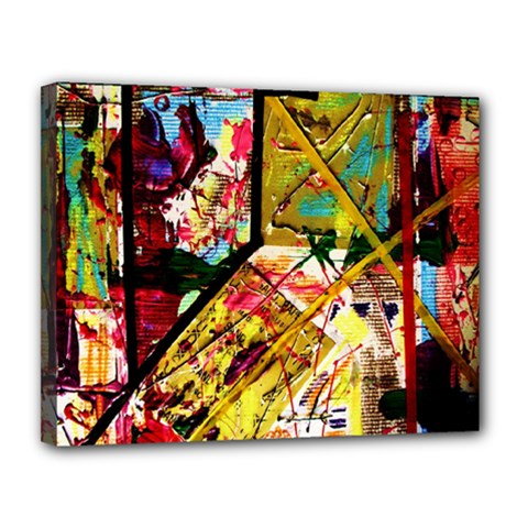 Absurd Theater In And Out Canvas 14  X 11  by bestdesignintheworld