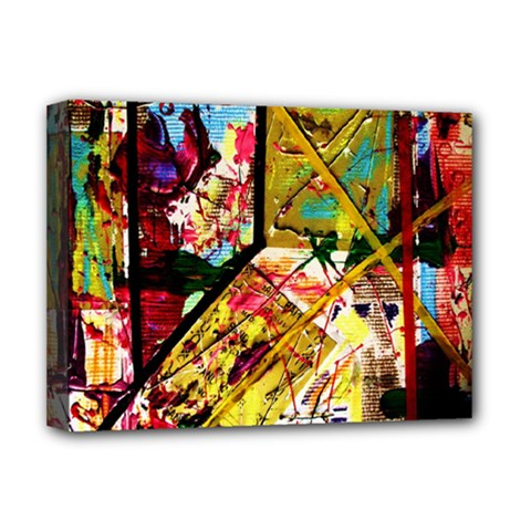 Absurd Theater In And Out Deluxe Canvas 16  X 12   by bestdesignintheworld