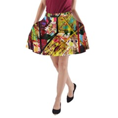 Absurd Theater In And Out A Line Pocket Skirt by bestdesignintheworld