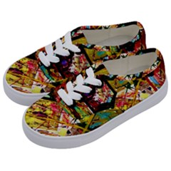 Absurd Theater In And Out Kids  Classic Low Top Sneakers by bestdesignintheworld