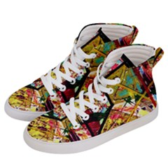 Absurd Theater In And Out Men s Hi Top Skate Sneakers by bestdesignintheworld