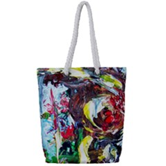 Eden Garden 12 Full Print Rope Handle Tote (small) by bestdesignintheworld
