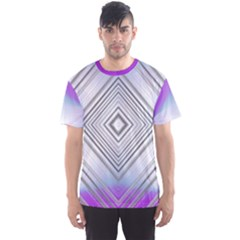 Ghost Gear   Purple Daiyamondo   Men s Mesh Tee by GhostGear