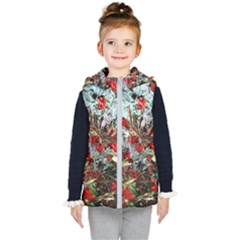 Eden Garden 11 Kid s Hooded Puffer Vest by bestdesignintheworld