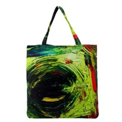 Abandoned Mine 3 Grocery Tote Bag by bestdesignintheworld