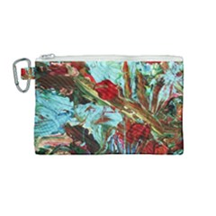 Eden Garden 7 Canvas Cosmetic Bag (medium) by bestdesignintheworld