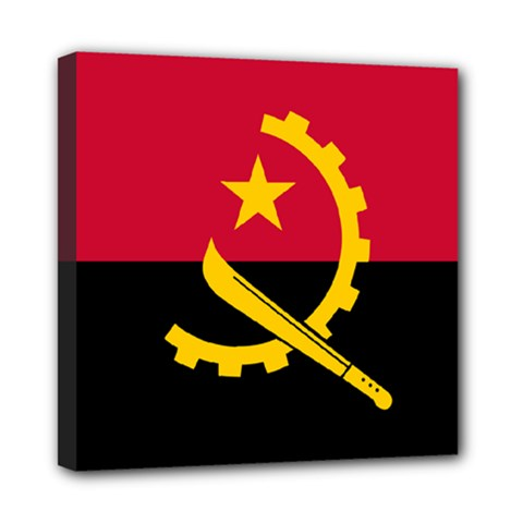 Flag Of Angola Multi Function Bag	 by abbeyz71