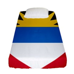 Flag Of Antigua & Barbuda Fitted Sheet (single Size) by abbeyz71