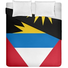 Flag Of Antigua & Barbuda Duvet Cover Double Side (california King Size) by abbeyz71