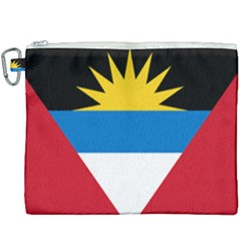 Flag Of Antigua & Barbuda Canvas Cosmetic Bag (xxxl) by abbeyz71