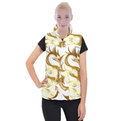 Dragon Animal Beast Creature Women s Button Up Vest by Simbadda
