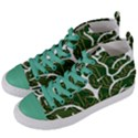 Circuit Anatomy Women s Mid-Top Canvas Sneakers View2