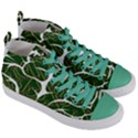 Circuit Anatomy Women s Mid-Top Canvas Sneakers View3
