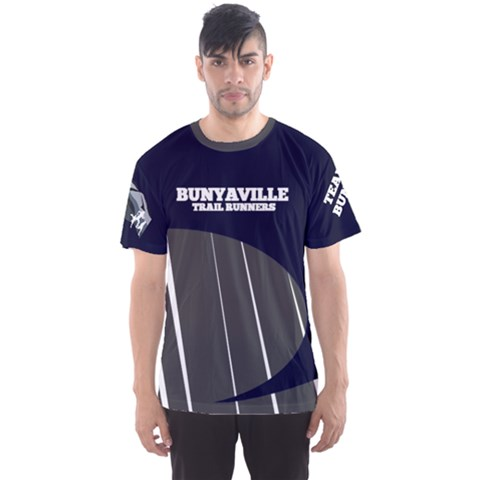 Bunyaville Trail Runners Men s Sports Mesh Tee by bunyaville