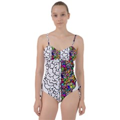 Brain Mind Anatomy Sweetheart Tankini Set