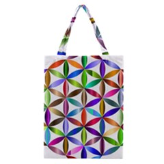 Flower Of Life Sacred Geometry Classic Tote Bag