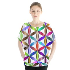 Flower Of Life Sacred Geometry Blouse