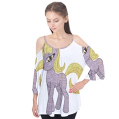 Unicorn Narwhal Mythical One Horned Flutter Tees