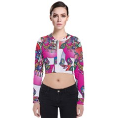Elephant Pachyderm Animal Bomber Jacket