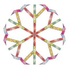 Flourish Decorative Peace Sign Mini Folding Umbrellas by Simbadda