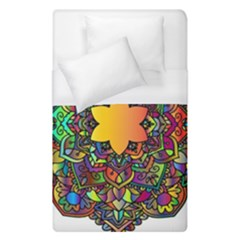 Mandala Floral Flower Abstract Duvet Cover (single Size)
