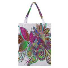 Floral Flowers Ornamental Classic Tote Bag