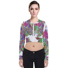 Floral Flowers Ornamental Bomber Jacket by Simbadda