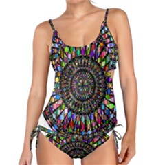 Mandala Decorative Ornamental Tankini Set