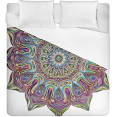 Mandala Decorative Ornamental Duvet Cover (king Size)