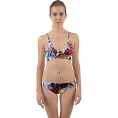 Eden Garden 3 Wrap Around Bikini Set by bestdesignintheworld
