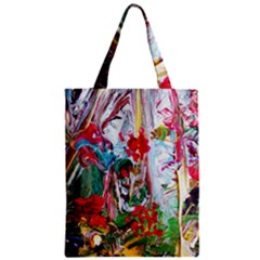 Eden Garden 2 Zipper Classic Tote Bag by bestdesignintheworld