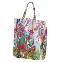 Eden Garden 2 Giant Grocery Zipper Tote